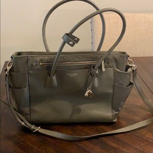 Henri Bendel- Purse/Diaper Bag w/Crossbody Strap.